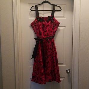 Hell Bunny 50' Scarlet Dress